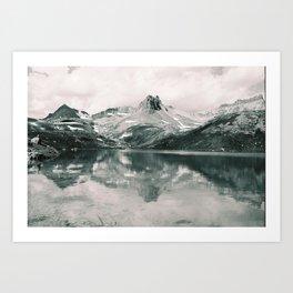Ice Lake. Art Print
