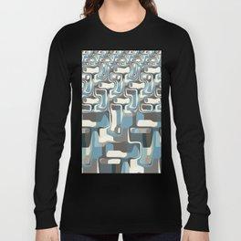 Abstract Shapes Metamorphosis Long Sleeve T-shirt