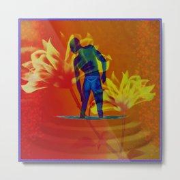 """A Blue Citrus Ass"" by surrealpete Metal Print"