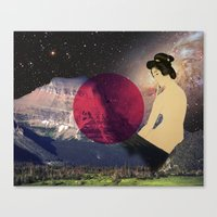 japan Canvas Prints featuring Japan by Blaz Rojs