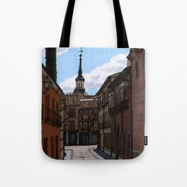 Alcalá streets Tote Bag