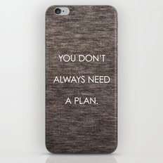 Plan iPhone & iPod Skin