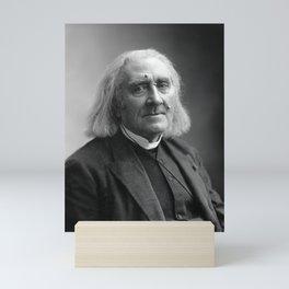 Composer Franz Liszt Portrait - 1886 Mini Art Print