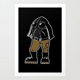 Mr Vader Art Print