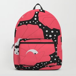 Poppies and dots Backpack