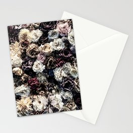 Flower Wall // Desaturated Vintage Floral Accent Background Jaw Dropping Decoration Stationery Cards