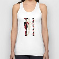 harley quinn Tank Tops featuring Harley Quinn by Lily's Factory