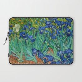 Irises by Vincent van Gogh (May 1889) Laptop Sleeve
