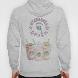 queen of coffee Hoody