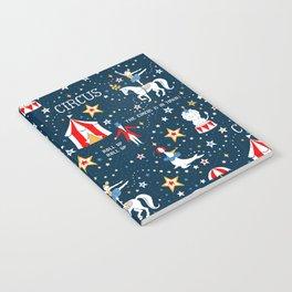 Retro Circus Notebook