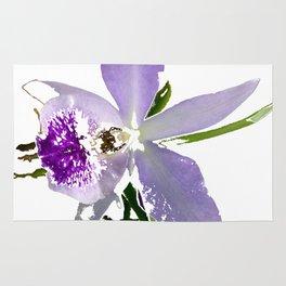 Purple Orchid Rug