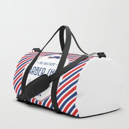 Mr. Moustache Barber Shop Duffle Bag