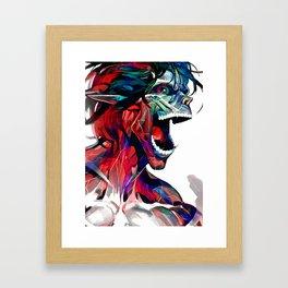 Eren Jaeger (Attack on titan) Framed Art Print