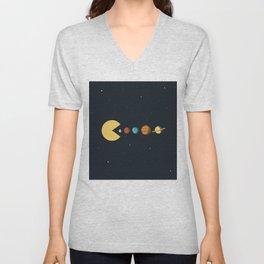 Planets #buyart #society6 Unisex V-Neck
