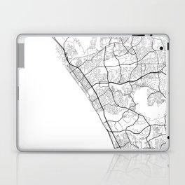 Minimal City Maps - Map Of Oceanside, California, United States Laptop & iPad Skin