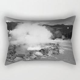Hot spring Rectangular Pillow