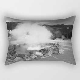 Hot spring Rectangular Pillow
