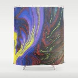 Purple Party Shower Curtain