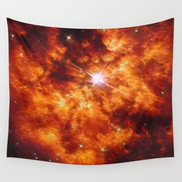 Cosmic Couple Wall Tapestry
