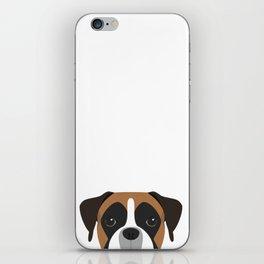 Boxer Portrait iPhone Skin