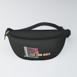 Swing Swear Look For Ball Repeat Funny Golfing Fanny Pack