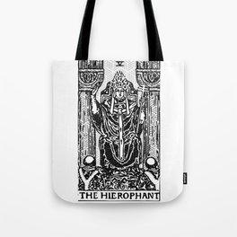 Geometric Tarot Print - The Hierophant Tote Bag