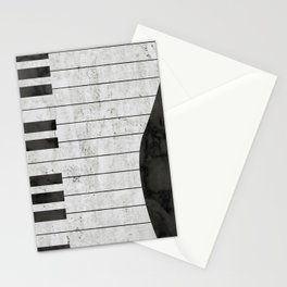 Stone Piano Stationery Cards