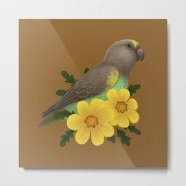 Meyer's Parrot Metal Print