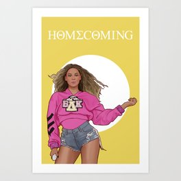 homecoming Art Print