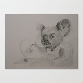 Koala Man Illustration Canvas Print