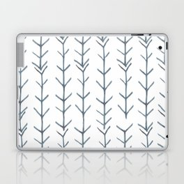 Twigs and branches freeform gray Laptop & iPad Skin