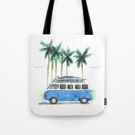 Vintage Camper Van · Surf Trip · Vintage Vehicle · Classic Camper van Tote Bag