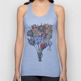 Virgo Boquet Unisex Tank Top