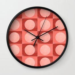 New York Moon Minimalism Living Coral Jester Wall Clock