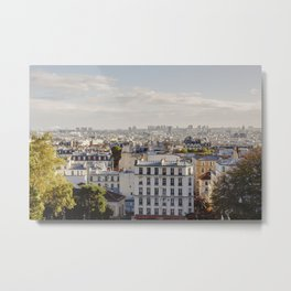 Paris Montmartre Metal Print