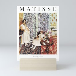 Henri Matisse - Moorish Screen - Exhibition Poster Mini Art Print