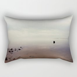 Foggy Sunrise Rectangular Pillow