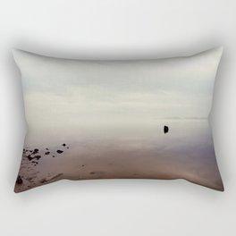 Foggy Sunrise Rectangular Pillow