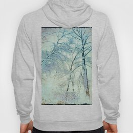Abstract Trees snow covered Hoody