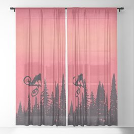 Whip Colors Sheer Curtain