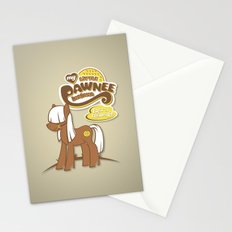 My Little Pawnee Stationery Cards