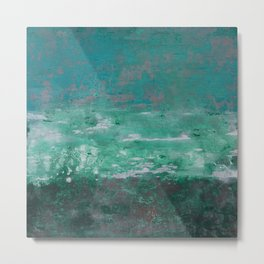 abstract, sky water and earth Metal Print