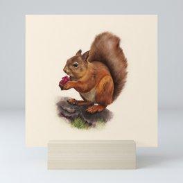Scoiattolo Mini Art Print