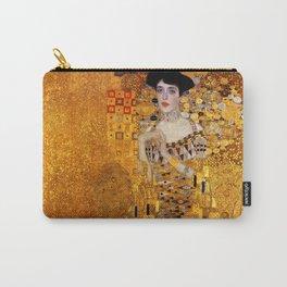 Gustav Klimt portrait painting of Bloch-Bauer Carry-All Pouch