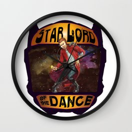 (Star) Lord of the Dance Wall Clock
