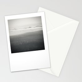 Black and White Tide Stationery Cards