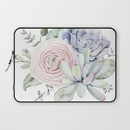 Succulent Blooms Laptop Sleeve