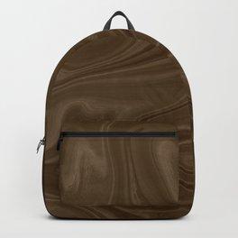 Chocolate Brown Swirl Backpack