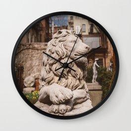 Elizabeth Street Garden IV Wall Clock