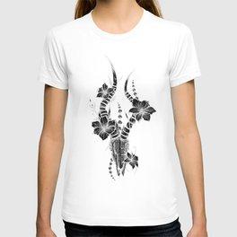 Black Cow Skull T-shirt